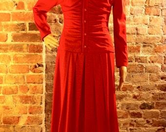Backwards-Forwards Elegant Italian Dress - Size 6ish
