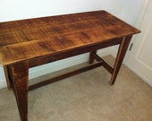 Rustic Kitchen Table - chandlerdavid