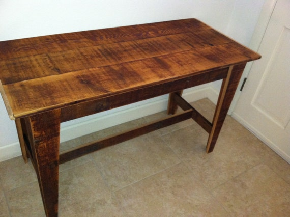 rustic kitchen table by chandlerdavid on etsy
