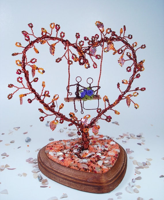 wedding cake s1 seeds wire tree in fall wedding cake topper bridal by 23739