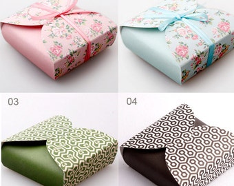 Lovely Paper Gift Box - 5 boxes (nd010)