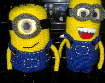 Minion Crochet Doll