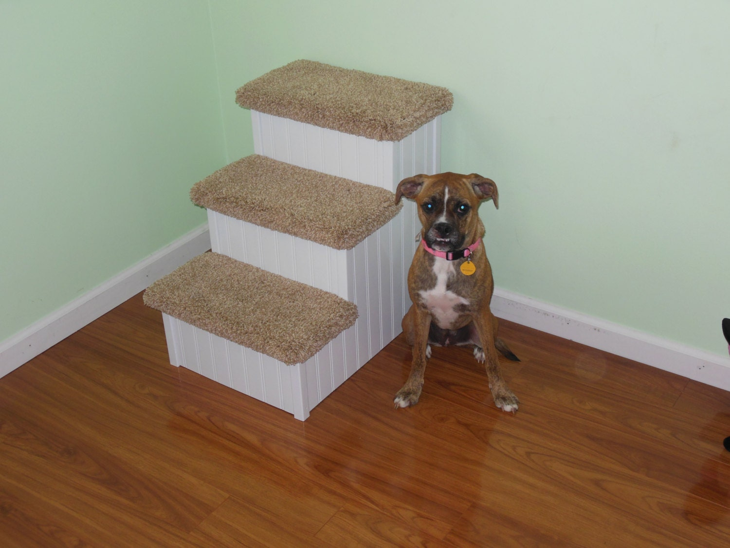 Dog Stair 24 High Pet Steps For Dogs Hampton Bay Pet