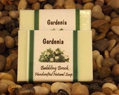 Gardenia the most romantic of scents, handmade natural soap