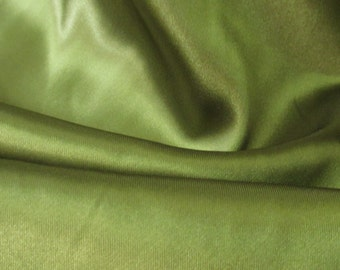 Moss Satin Fabric /  60 in.  /  Moss