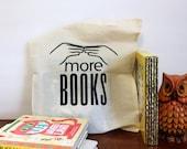 Toddler Tote Bag, More Books Library Tote Bag