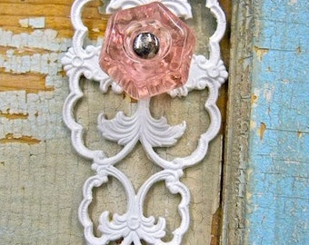 Shabby Chic  FURNITURE APPLIQUES  Architectural Glass Knob  5.95 No Limit shipping in the US