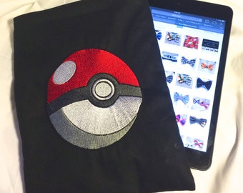 Pokemon Pikachu Squirtle Bulbasaur Jiggly Puff Charmander Evee pouch sleeve for iPad iPad Mini Nook Kindle Android Tablet