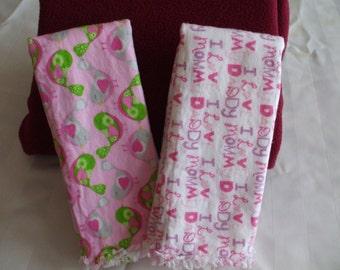 Burp Cloth Set of 2