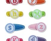 Personalized Monogram Hair Clip - You choose style and color