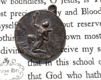 St. Expeditious MEDAL - Bronze - Vintage Replica - Made in the USA  (SM10)