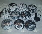 DISCONTINUING: Junji Ito buttons