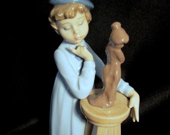 Lladro 5358 Little Sculptor