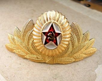 Vintage Soviet Pin - Military Ussr Pin - f95