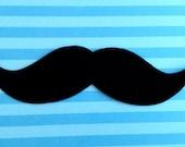 Iron-On Mustache Appliqué