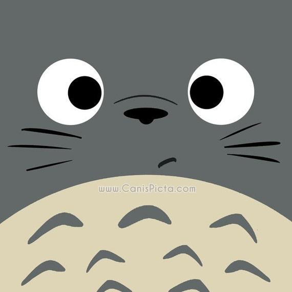 Totoro Kawaii la place de mon voisin Dubitatif Totoro 8 x