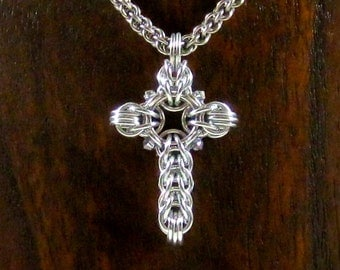 Celtic Cross with Crystals
