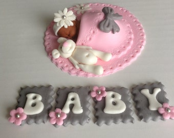 Marvelous Baby Shower Cake Topper | Etsy