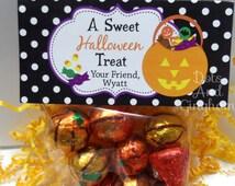 Halloween Treat Bag Topper-Halloween Candy Bucket Topper-Printable Halloween Candy Bucket Treat Topper-Halloween Treat Topper-Halloween