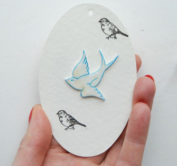 Bird brooch, swallow, swallow badge, swift brooch, vintage, tattoo pin