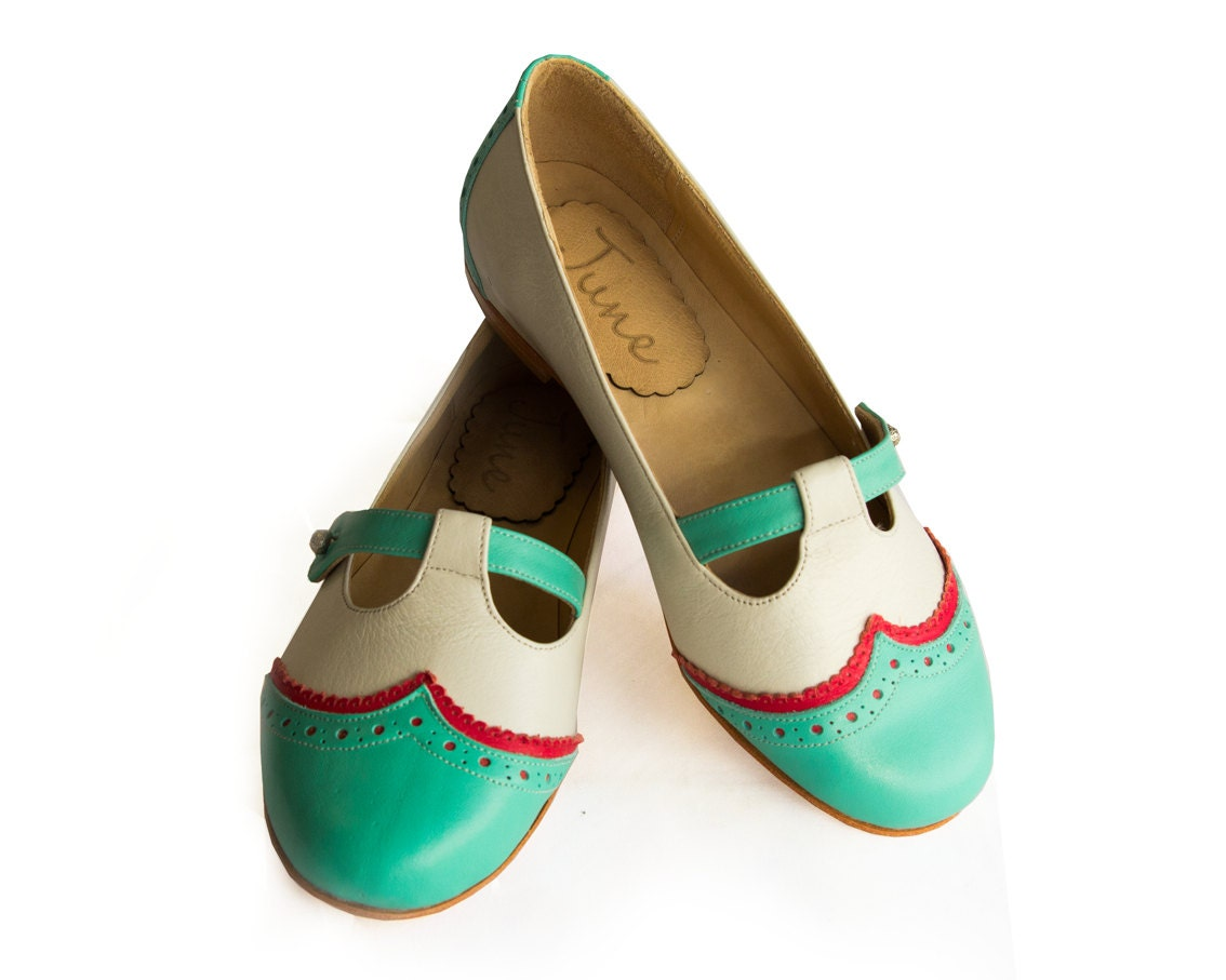 Mint Flats - Quiero June Shoes