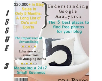 Handmadeology Magazine - Issue 3- JJMFinance - Etsy-preneurship