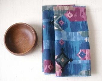 vintage napkins southwest pattern set of two