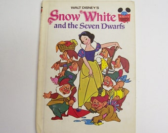 Snow White and the Seven Dwarfs hard bound book from Disney's Wonderful World of Reading, Disney Book, Princess Book, Children's Story Book