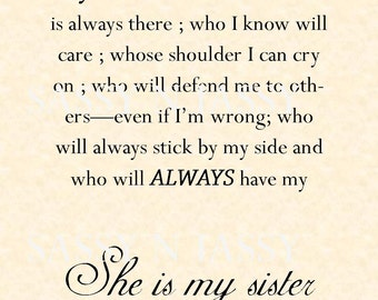 20 Loving And Caring Sister Quotes -DesignBump