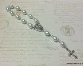 Infant Rosary - for your Baby Boy