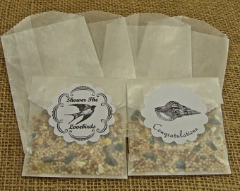 Glassine Favor Bags - Glassine Envelopes - Sachet - Party Favor - 25
