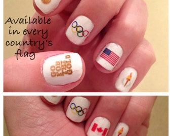 Olympic Nail Decals