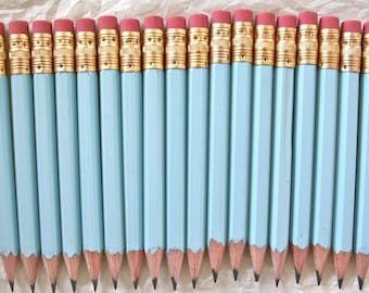 Mini Pencils, 18 Color Choices