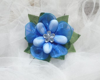 Blue Orchid Flower Wedding Favour, Almonds, Wedding Accessories, Birthdays, Anniversaries, Celebrations, Wedding Receptions, Decorations.