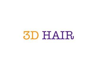3D Hair Add-Ons