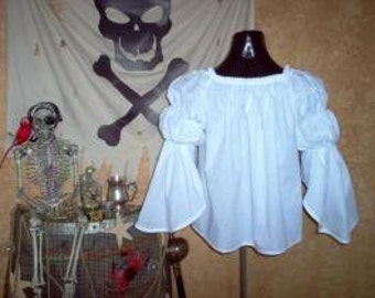 Pirate Renaisssance Chemise Shirt Other Colors Available