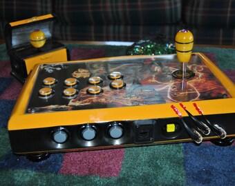 "Custom Arcade Stick - ""Ultimate Warrior Series ""The Essence Of Bruce"""