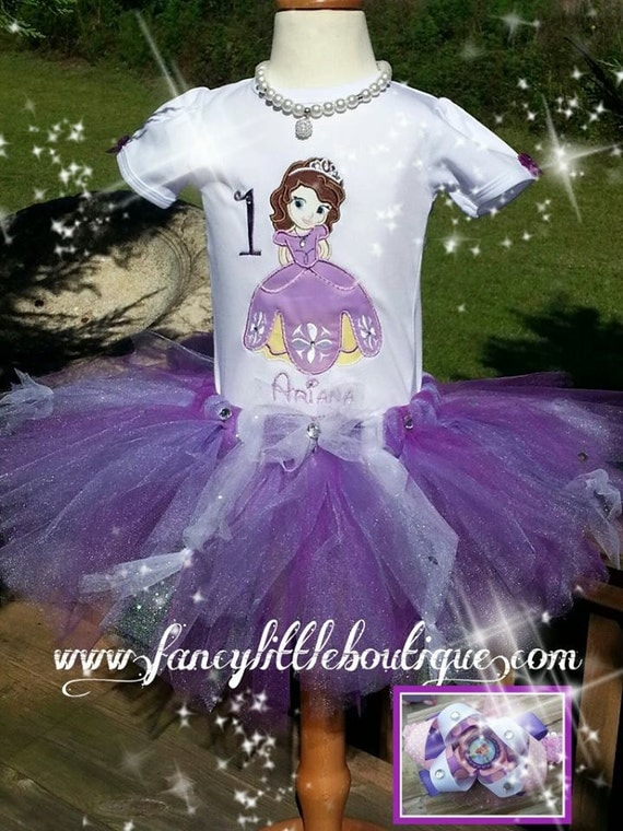 Princesa Sofia tutu por Fancylittleboutique en Etsy