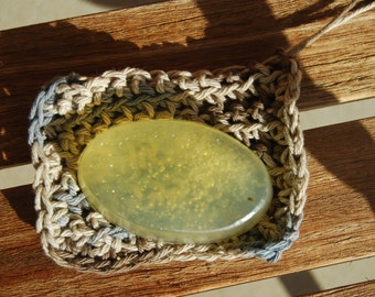 Patchouli  Tangerine Hemp Seed Oil Soap with Stash Bag