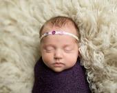 Newborn {Girly Trio} Gem Headband, Newborn Photography Prop