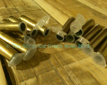 Geocache Container - Sneaky Evil Hide - Bullet Ammo Shell Casing - Spent Shells - Micro 6 Pack
