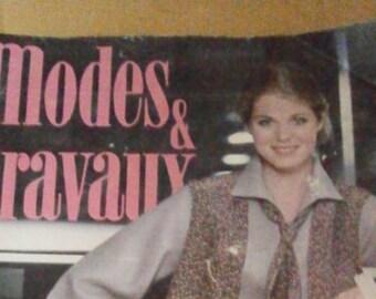 Vintage French 1978 Magazine Modes &Travaux