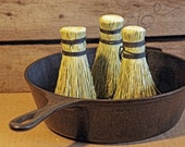 6 Pack Broomcorn Pot Scrubbers - Dutch Oven - Veggies - Potatoes