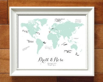 maps_guestbook on Etsy, a global handmade and vintage marketplace.