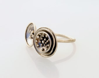 RING SILVER  ADJUSTABLE