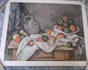 Paul Cezanne Still Life Print 20 by 16 Doubleday