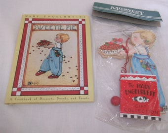 Mary Englebreits Sweetie Pie Book and Marionette