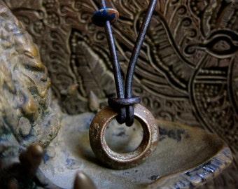 Wedding Ring Necklace,Mens Necklace,Mens Necklace Leather, Man,Mens Jewelry,Leather Necklace Men, Men's Necklace,Men's Necklace,Ethiopian
