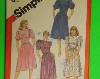 Vintage Simplicity 5916 Pattern Size 10