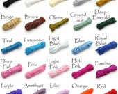 Soutache Braid Cord Trim - Choose Color - 3x1mm, 5 yds - Colorfast and eco-friendly - DIY Jewelry Making